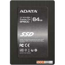 SSD накопитель A-Data Premier Pro SP600 64GB (ASP600S3-64GM-C)
