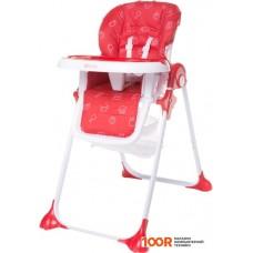 Стульчик для кормления 4baby Decco (красный)