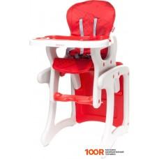 Стульчик для кормления 4baby Fashion (красный)