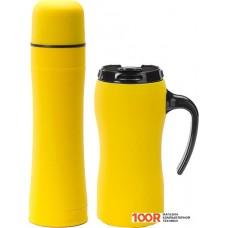 Термосы и термокружки Colorissimo Thermal Mug & Thermos Set (желтый) [HD01-YL/HT01-YL]