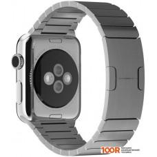 Браслет Apple блочный 42 мм (серебристый) [MJ5J2]