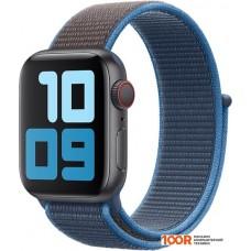 Браслет Apple из плетеного нейлона 40 мм (синяя волна) MXMQ2