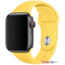 Браслет Apple спортивный 40 мм (canary yellow, S/M и M/L) MV6A2