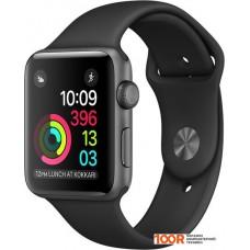 Умные часы Apple Watch Series 1 38mm Space Gray with Black Sport Band [MP022]