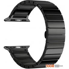 Браслет Lyambda Canopus для Apple Watch 38-40 мм (черный)