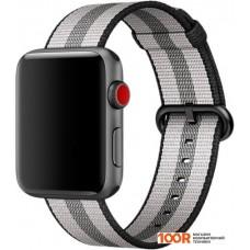 Браслет Miru SN-02 для Apple Watch (черная полоса)