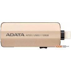 USB-флешка A-Data AI720 128GB (золотистый)