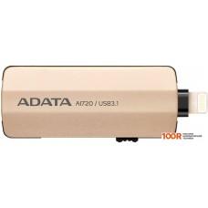 USB-флешка A-Data AI720 64GB (золотистый)