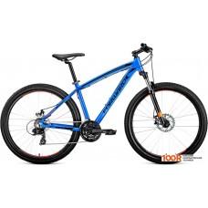 Велосипед Forward Next 27.5 2.0 disc р.17 2019 (синий)