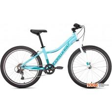 Велосипед Forward Seido 24 1.0 (бирюзовый, 2019)