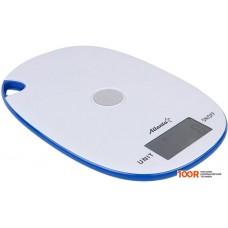 Кухонные весы Atlanta ATH-6211 (белый/голубой)