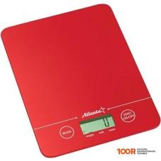 Кухонные весы Atlanta ATH-6213 (красный)