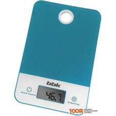 Кухонные весы BBK KS109G (бирюзовый)
