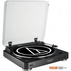 Виниловый проигрыватель Audio-Technica AT-LP60BK-BT