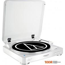 Виниловый проигрыватель Audio-Technica AT-LP60WH-BT