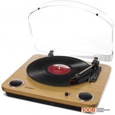 Виниловый проигрыватель ION Audio MAX LP (дерево)