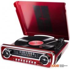 Виниловый проигрыватель ION Audio Mustang LP (бордо)
