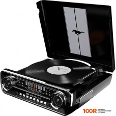 Виниловый проигрыватель ION Audio Mustang LP (черный)