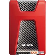 Внешний жёсткий диск A-Data DashDrive Durable HD650 2TB (красный)