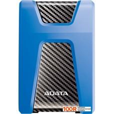 Внешний жёсткий диск A-Data DashDrive Durable HD650 2TB (синий)