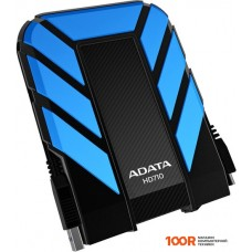 Внешний жёсткий диск A-Data DashDrive Durable HD710 1TB Blue (AHD710-1TU3-CBL)