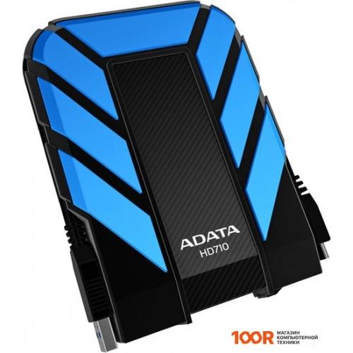Внешний жёсткий диск A-Data DashDrive Durable HD710 1TB Blue (AHD710-1TU3-CBL)