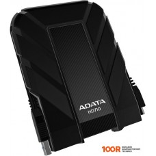 Внешний жёсткий диск A-Data DashDrive Durable HD710 2TB Black (AHD710-2TU3-CBK)