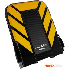 Внешний жёсткий диск A-Data DashDrive Durable HD710 2TB Yellow (AHD710-2TU3-CYL)