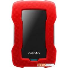 Внешний жёсткий диск A-Data HD330 AHD330-2TU31-CRD 2TB (красный)