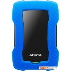 Внешний жёсткий диск A-Data HD330 AHD330-4TU31-CBL 4TB (синий)