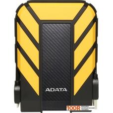 Внешний жёсткий диск A-Data HD710P 2TB (желтый)