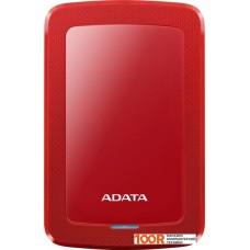 Внешний жёсткий диск A-Data HV300 AHV300-2TU31-CRD 2TB (красный)
