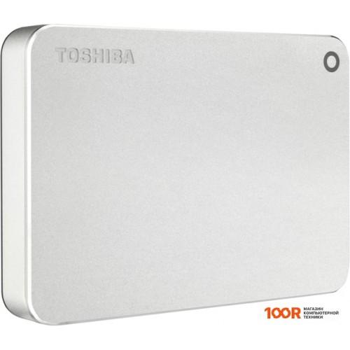 Внешний жёсткий диск Toshiba Canvio Premium HDTW220ES3AA 2TB (серебристый)