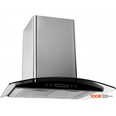 Вытяжка Backer QD60E-TGL200 Inox Dark Glass