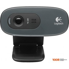 Web-камера Logitech HD Webcam C270 черный [960-001063]