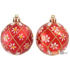 Новогоднее украшение Волшебная страна PBD6-6-807-R 6 шт