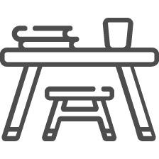 Детские столы и парты